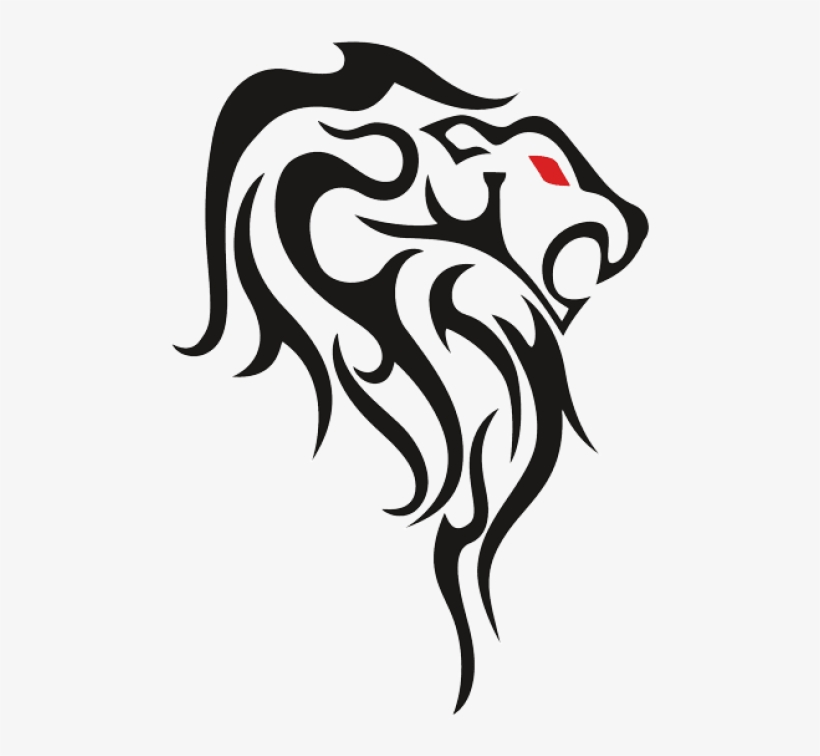 Free Png Download Leo Tribal Tattoos Drawing Png Images - Lion Tattoos For Drawing, transparent png #7775917