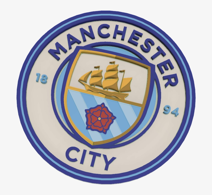 Manchester City Logo Multi Color Psg And Man City Free Transparent Png Download Pngkey