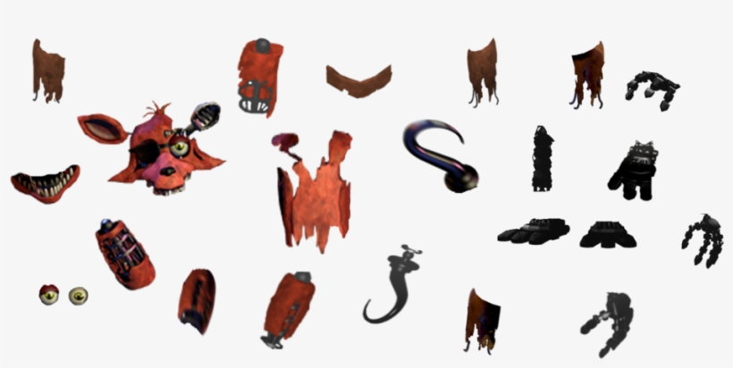 Fnaf Withered Foxy Resources Free Transparent Png Download Pngkey