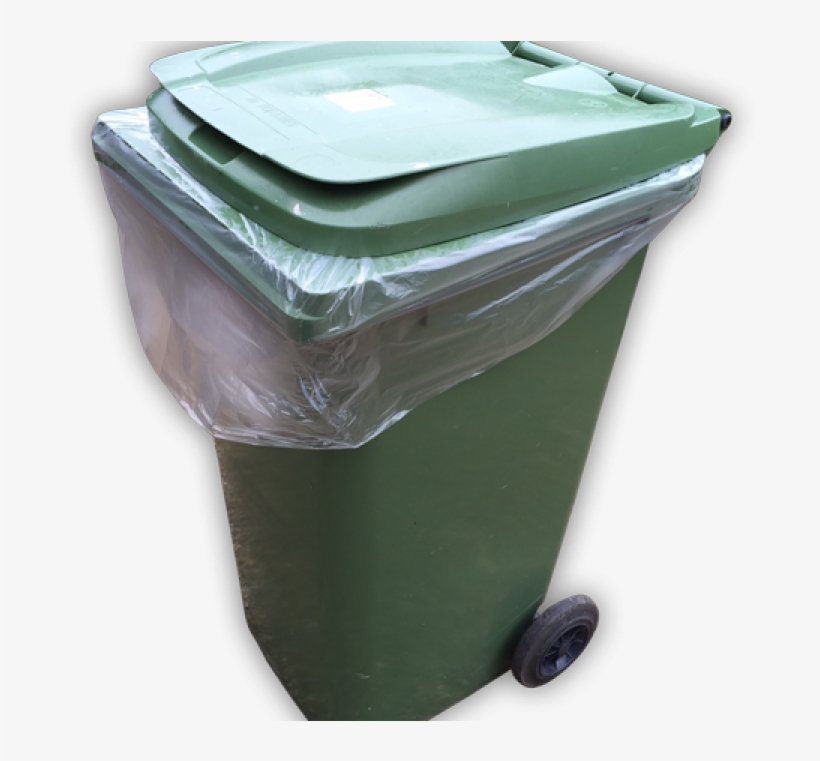 Details About 25/100pc Heavy Duty 240lt Wheelie Bin - Bin Bag, transparent png #7779506
