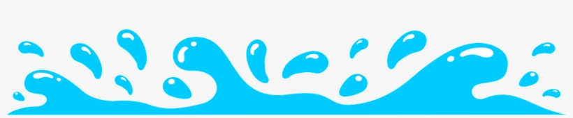 Splash Drops Water - Transparent Water Splash Clip Art, transparent png #7780973