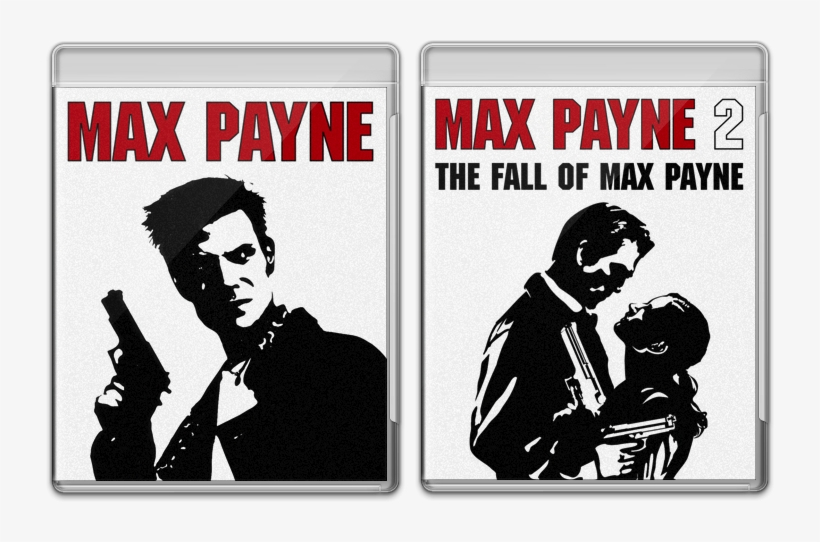 Max Payne 1 & - Max Payne 2 The Fall Of Max Payne, transparent png #7781115