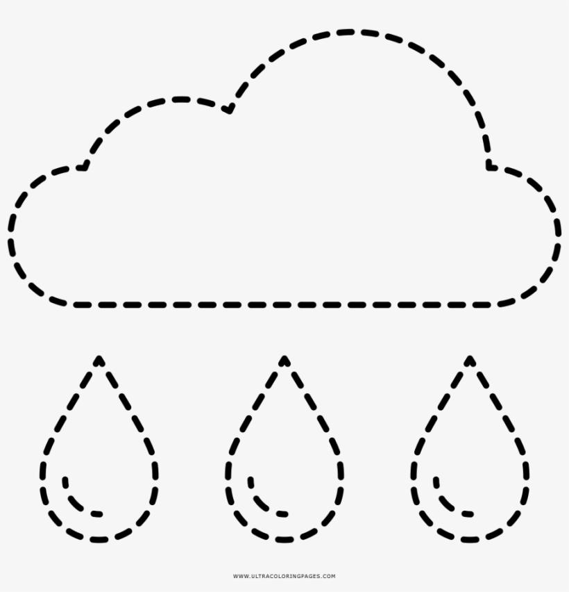 Coloring Book Cloud Rain Drawing Transprent Png - Inspiration Symbol, transparent png #7781345