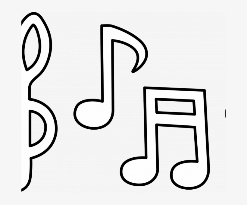 picture about Music Notes Printable known as Tunes Notes Symbols - Audio Be aware Template Printable Absolutely free