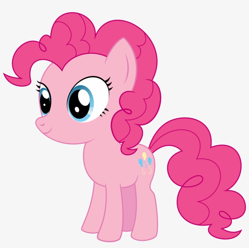 Pony Chibi Series - My Little Pony Pinkie Pie Chibi, transparent png #7786065