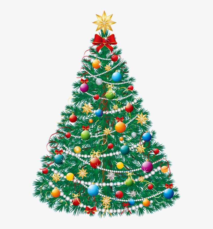 Christmas Lights Png - Beautiful Christmas Tree, transparent png #7786283