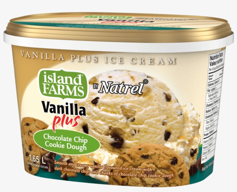 Smooth And Creamy Vanilla Flavoured Ice Cream With - Ice Cream, transparent png #7786450