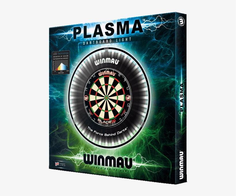 Winmau Plasma Dartboard Light, transparent png #7787702
