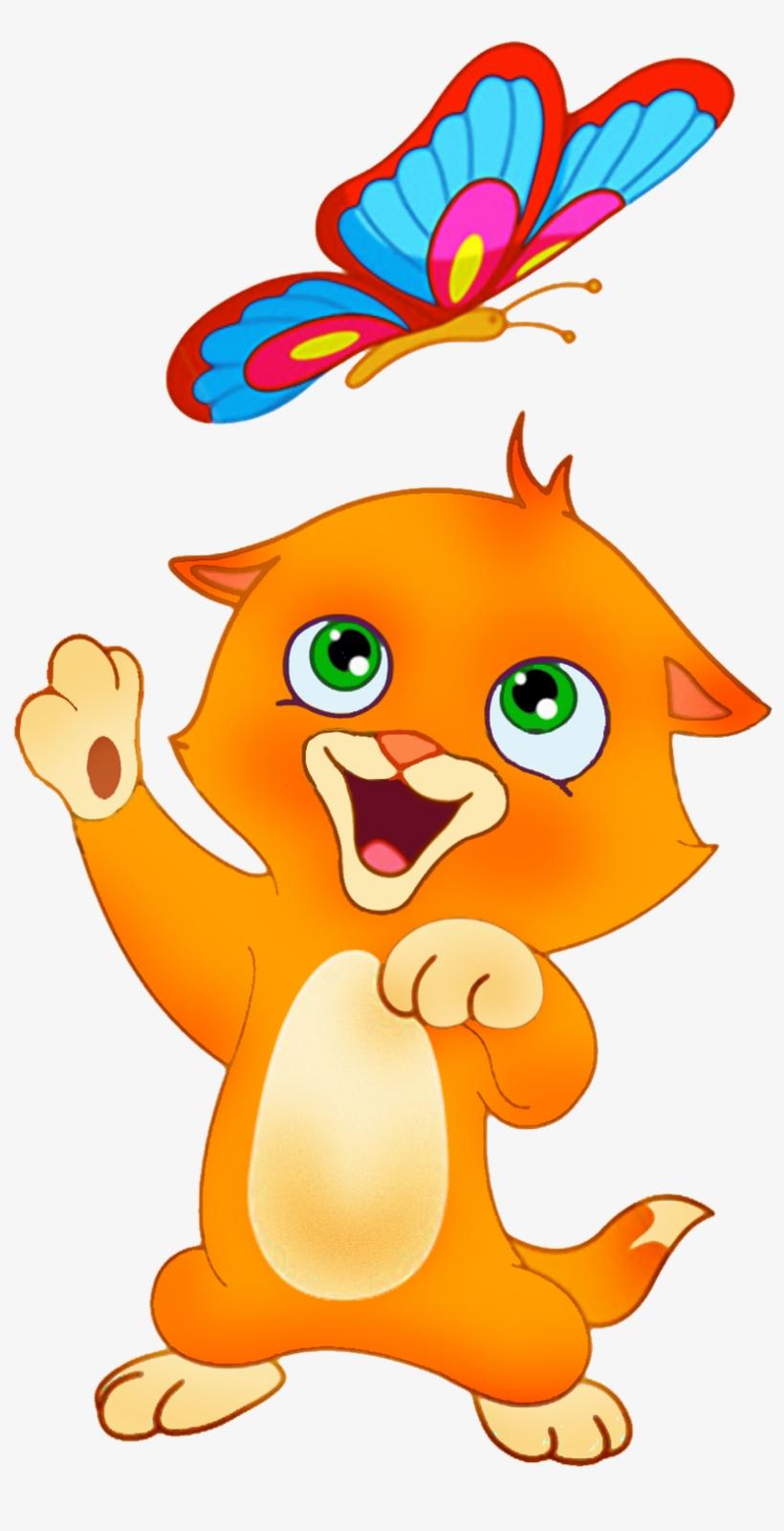 Dibujos Gatos Png Gatos Dibujo A Color Free Transparent Png