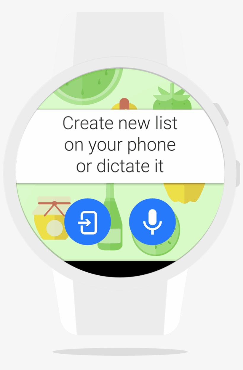 Smartwatch Shopping - Google Voice Search, transparent png #7796735