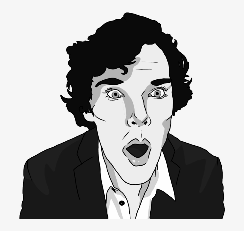 You Can Use All These Vectors Or Pngs To Make Your - Sherlock Face Png, transparent png #780782