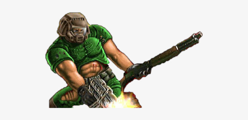 Doomguy Doom Png Free Transparent Png Download Pngkey