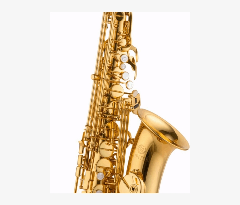 Jupiter Alto Saxophone O'malley Sinstrument - Jupiter Jas1100 Alto Saxophone Gold Lacquer, transparent png #781585