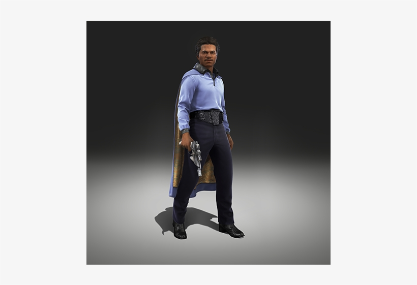 Rendition2 Img Star Wars Battlefront Heroes Lando Free Transparent Png Download Pngkey