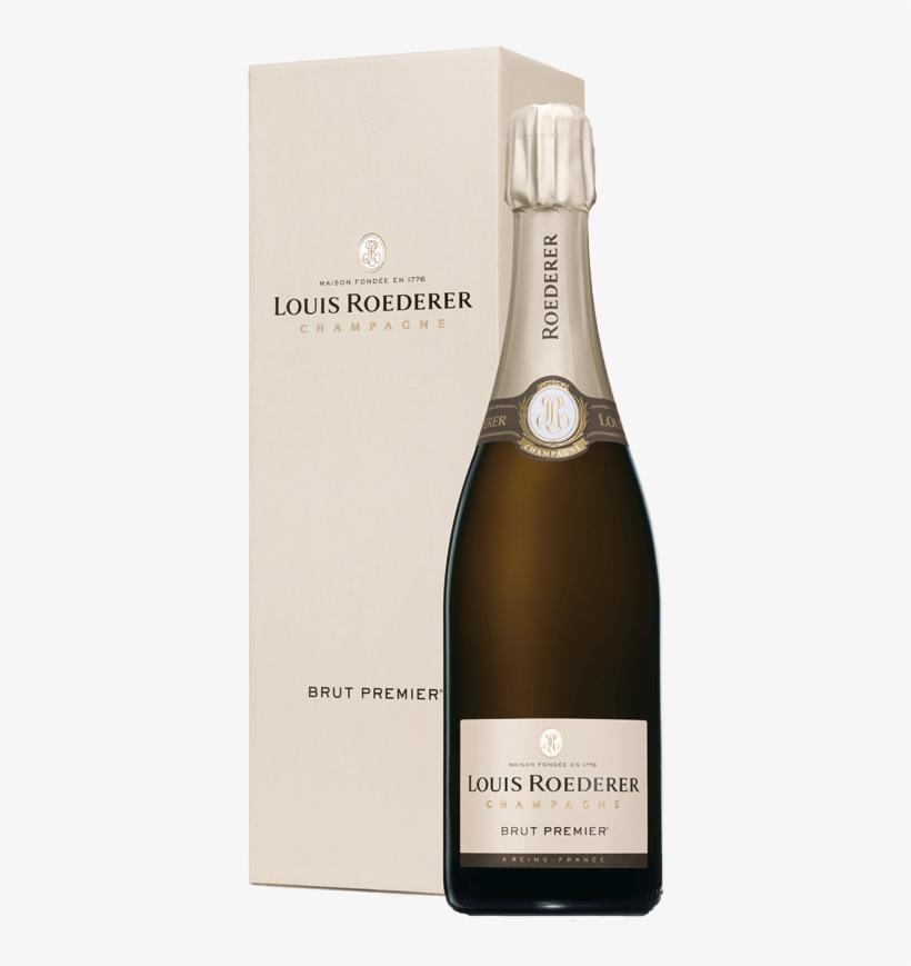 Champagne Louis Roederer Brut Premier Nv - Louis Roederer Blanc De Blancs 2010, transparent png #781882