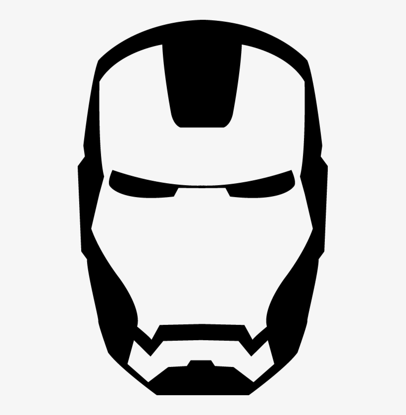 Ironman Vector By Levichong Iron Man Logo Black And White Free