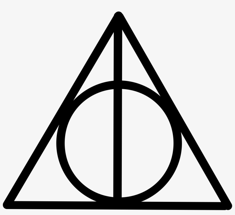 Deathly Hallows Icons Png Free And Downloads - Deathly Hallows Sign, transparent png #783351