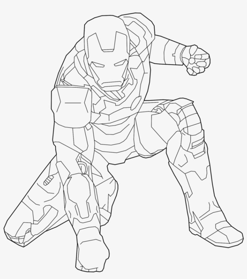 Iron Man Line Drawing At Getdrawings - Iron Man Line Drawing, transparent png #783575