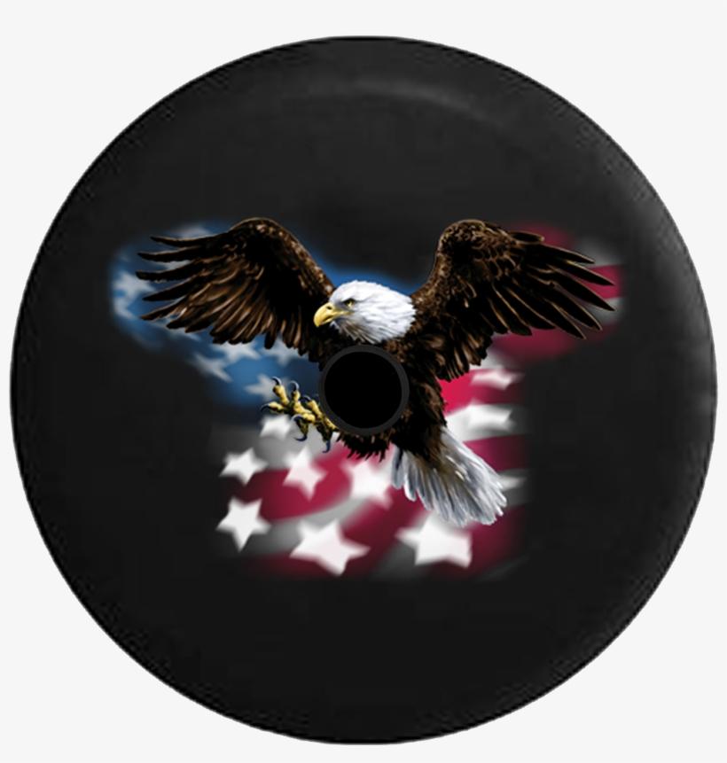 Jeep Wrangler Jl Backup Camera American Bald Eagle Tirecoverpro