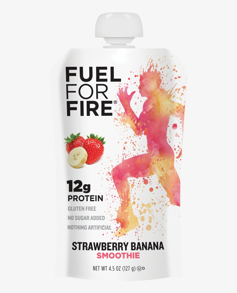 Natural On The Go Protein Snack - Fuel For Fire Strawberry Banana, transparent png #784500