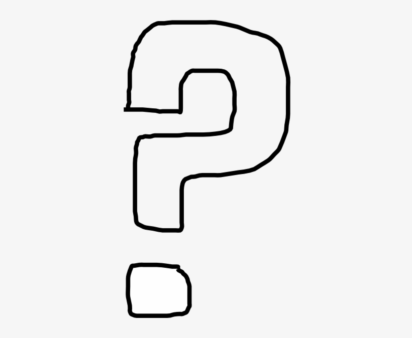 Question Mark Clip Art Black And White Question Mark - Question Marks Clip Art Black And White, transparent png #784550