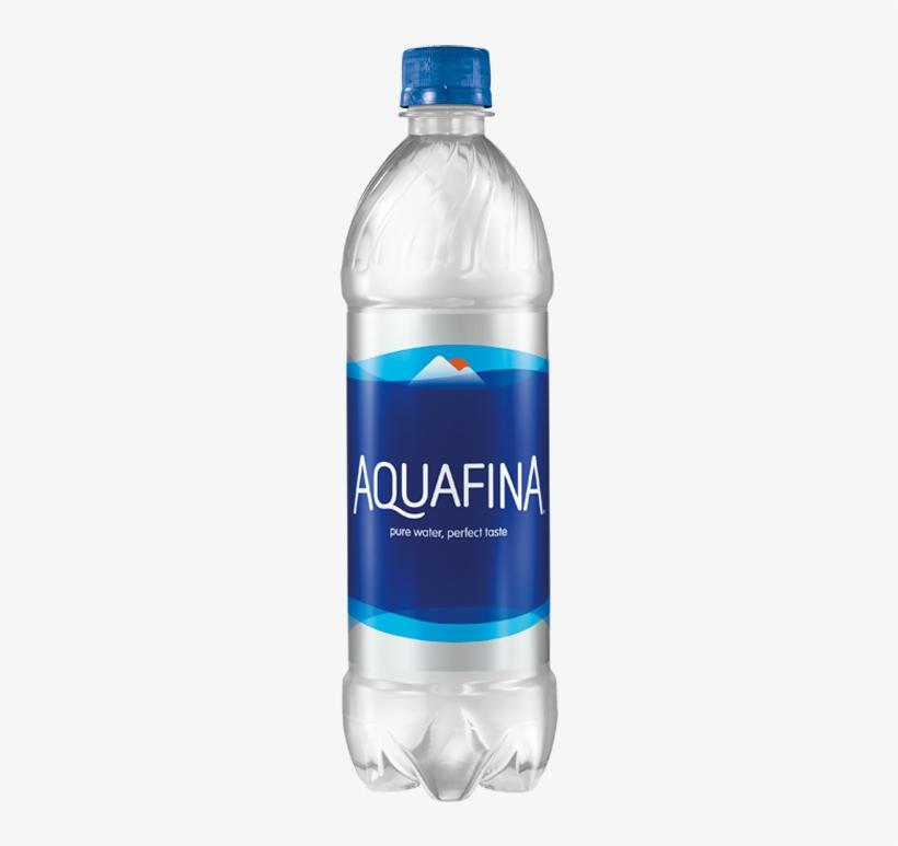Aquafina Purified Drinking Water - 16.9 Fl Oz Bottle, transparent png #785520