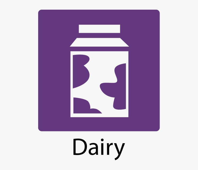 Dairy Icon - Dairy Product Icon Png - Free Transparent PNG