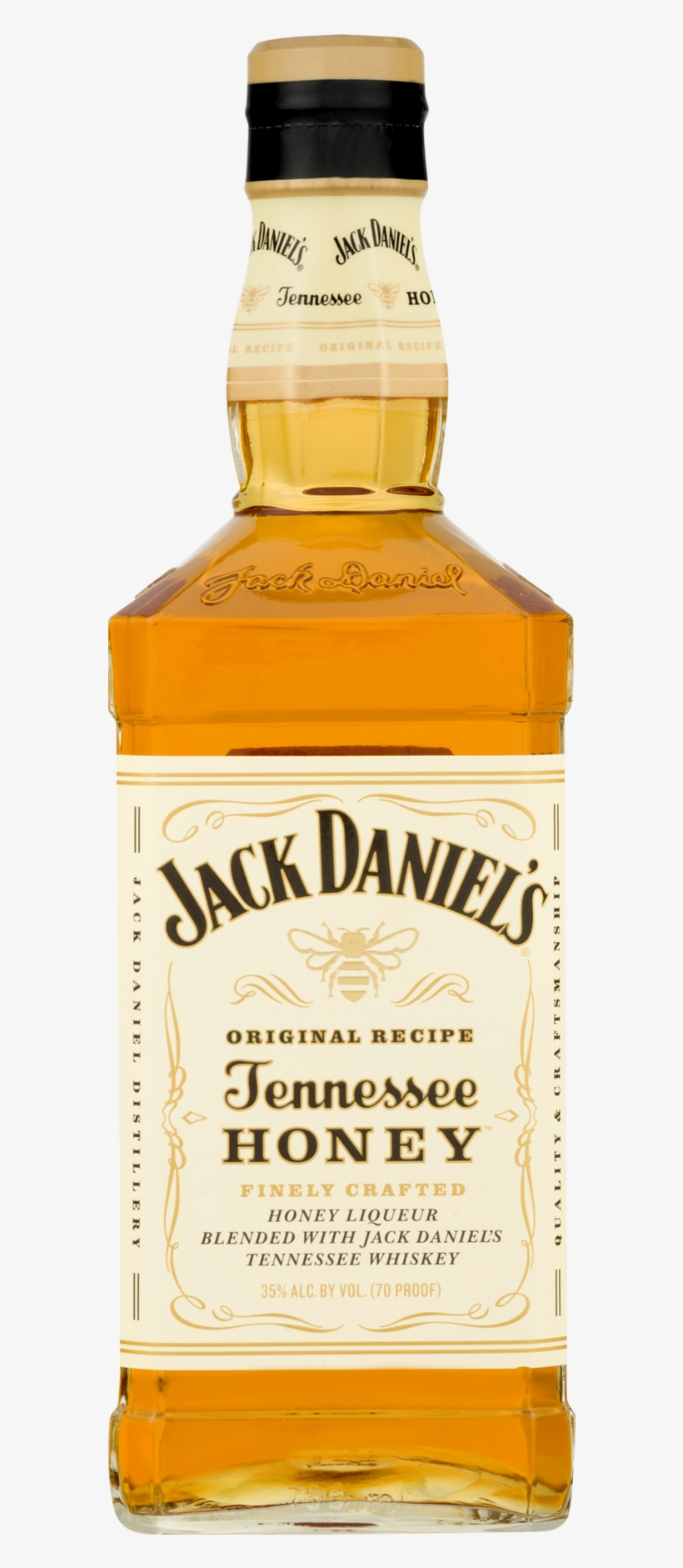 Jack Daniels Tennessee Honey Is A Blend Of Jack Daniels - Jack Daniels White Honey, transparent png #786479