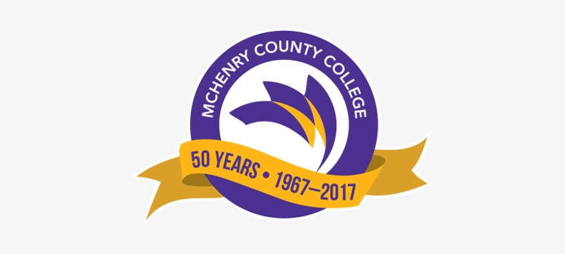 50th Anniversary Logo - Mchenry County College Logo, transparent png #787253