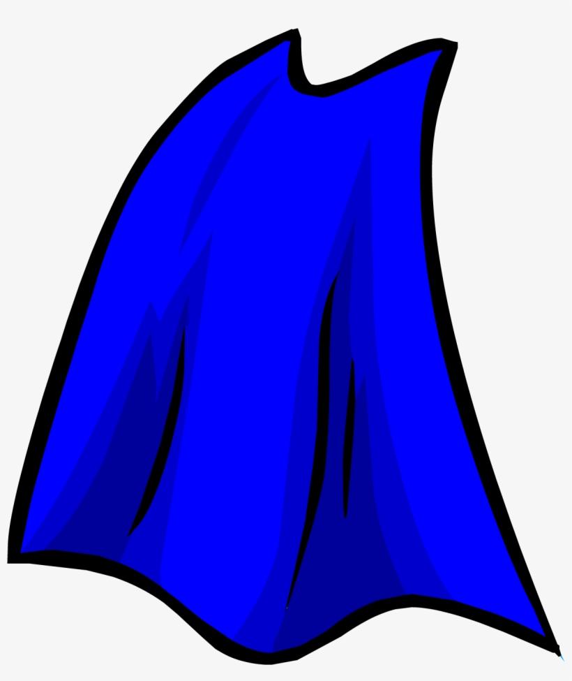 Blue Cape Png - Superhero Cape Clipart - Free Transparent