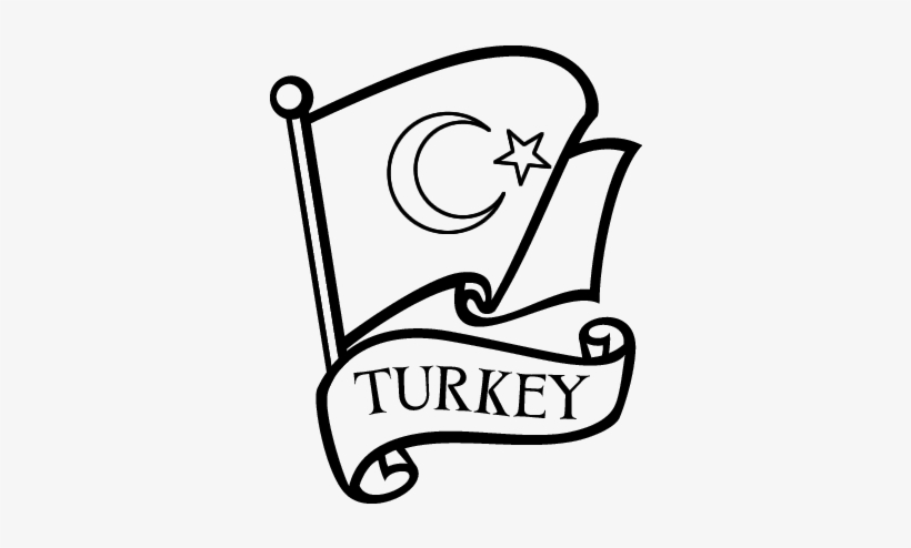 Pakistan Flag Clipart Clipart Black Turkish Coloring Pages Free