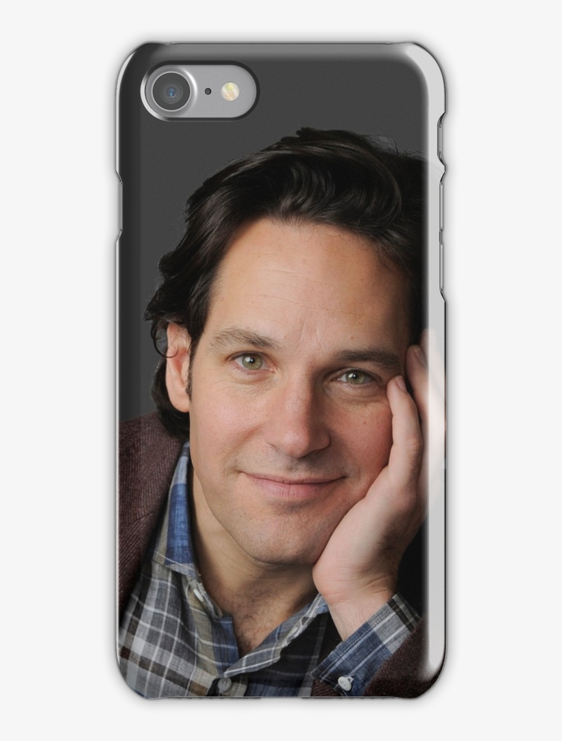 'paul Rudd' Iphone Case By Lostspaceman - Paul Rudd Actor Comedian 40x30 Framed Canvas Art Print, transparent png #788504