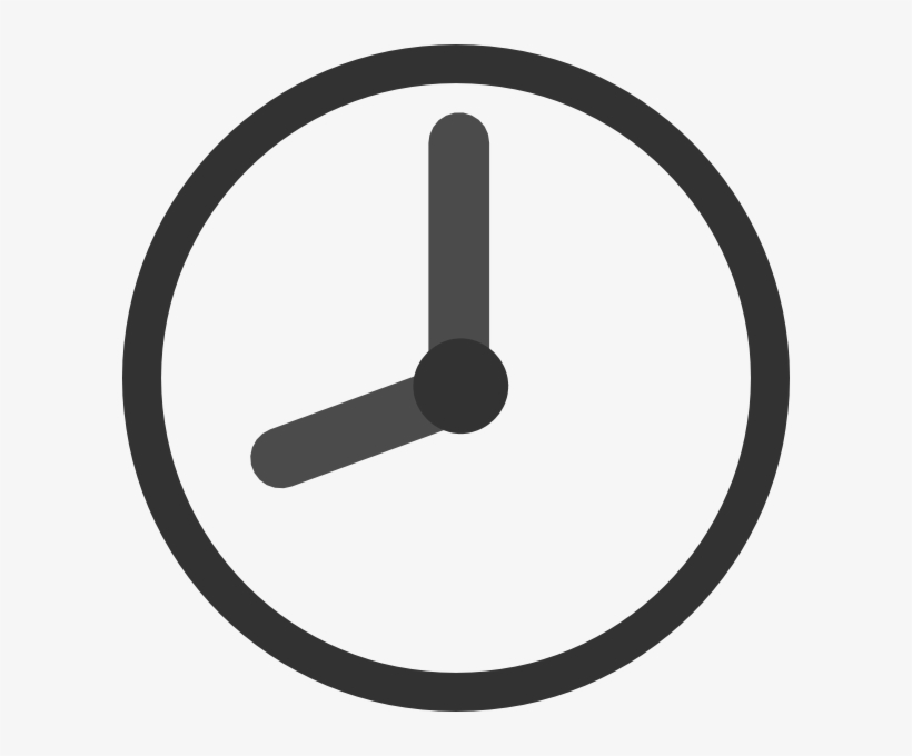 Clock Icon Png Transparent - 9 Clock Icon Png, transparent png #789285