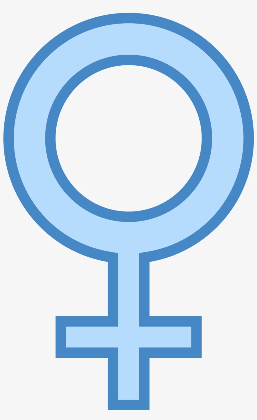 Male Managers Command Less Authority In Female Stereotyped - Circle With Cross On Bottom Symbol, transparent png #7800803