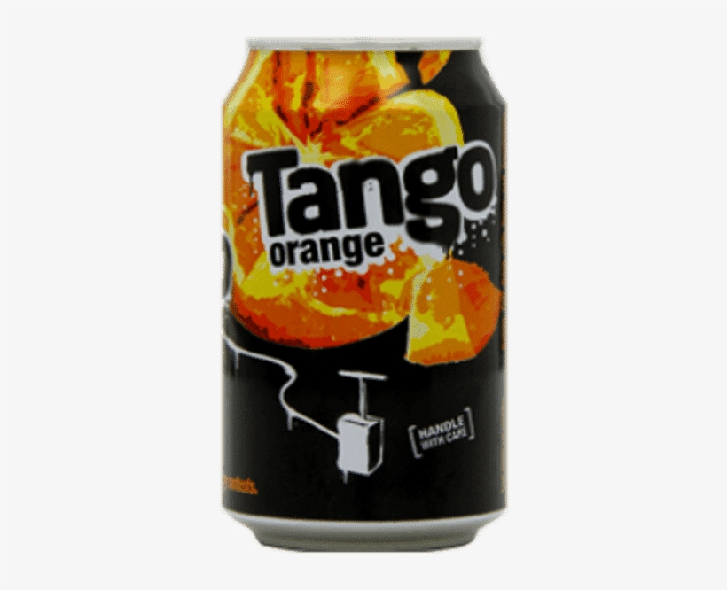 Related Products - Tango Orange Can 330 Ml (pack Of 24), transparent png #7807329