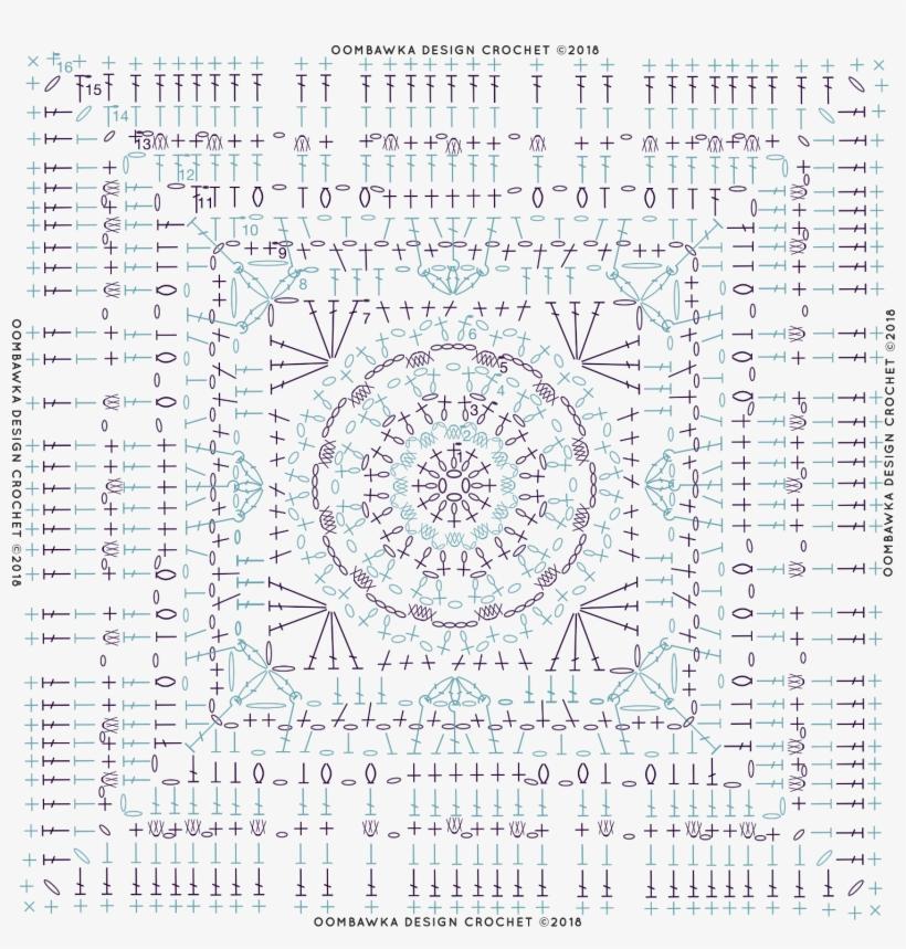 Diagram Magic Menhirs Afghan Square Pattern Circle Free