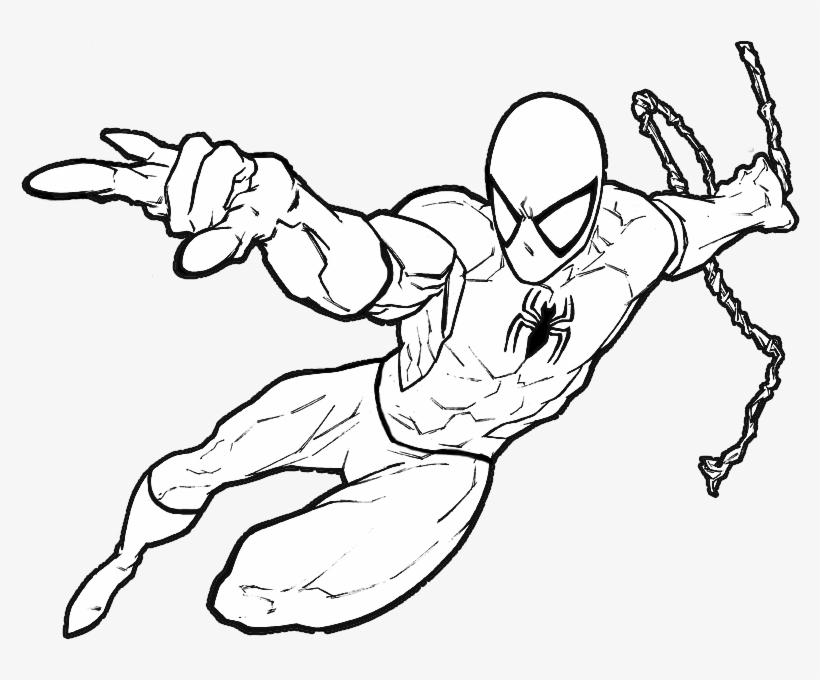 Homem Aranha Para Colorir E Pintar Homem Aranha Para Pintar