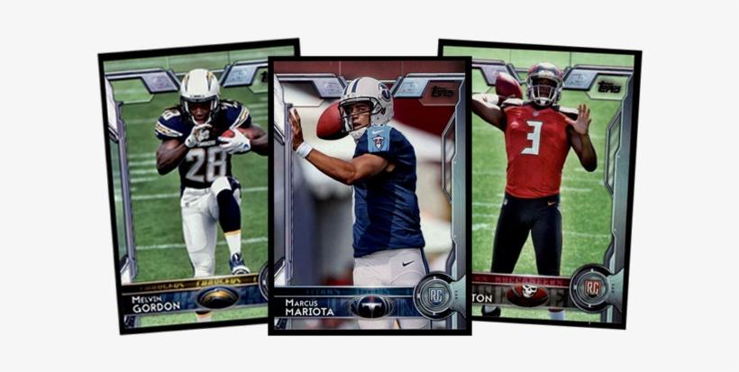 2015 Topps Football Cards - Sprint Football, transparent png #7824908