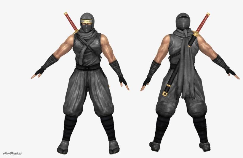 Ryu Hayabusa, Doa, Ninjas, Pirates, Ninja - Ryu Hayabusa 3d Model, transparent png #7826562