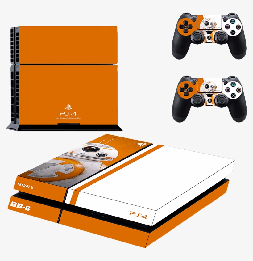 Playstation 4 Phat Decal / Skin / Vinyl - Playstation 4 Stickers Star Wars, transparent png #7826839