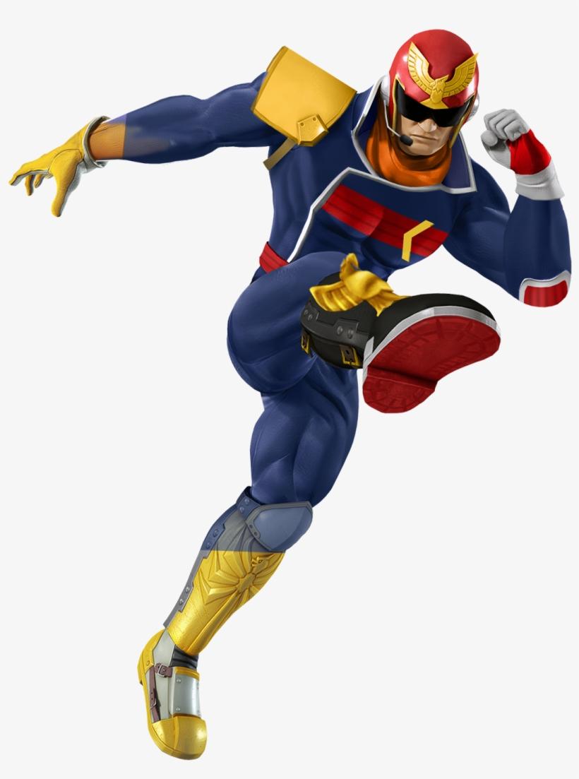 11845770 - >> - Super Smash Bros Characters Captain Falcon, transparent png #7827426