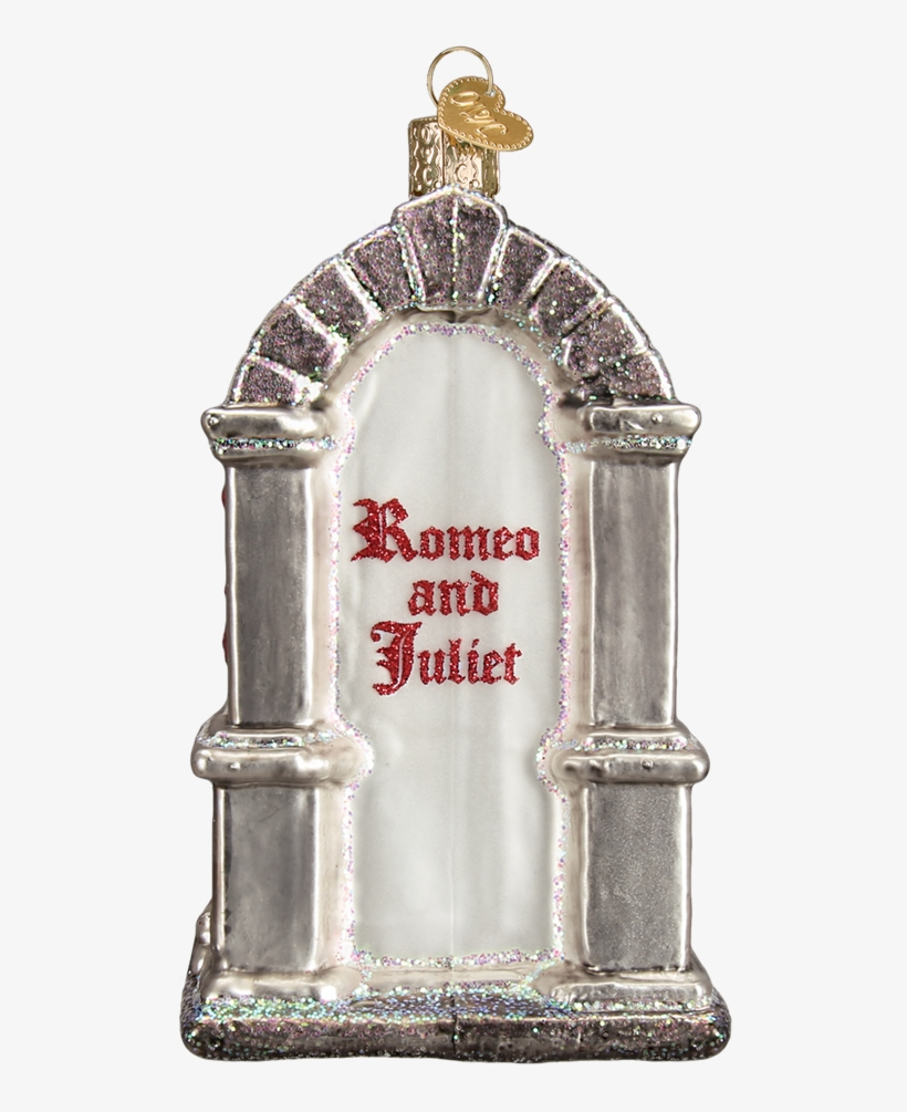 Romeo And Juliet Glass Christmas Ornament, Owc-old - Picture Frame, transparent png #7827846