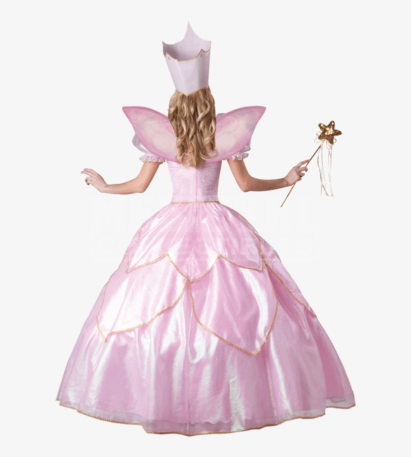Fairy Godmother Deluxe Adult Costume - Pink Fairy Dress Adults, transparent png #7835845