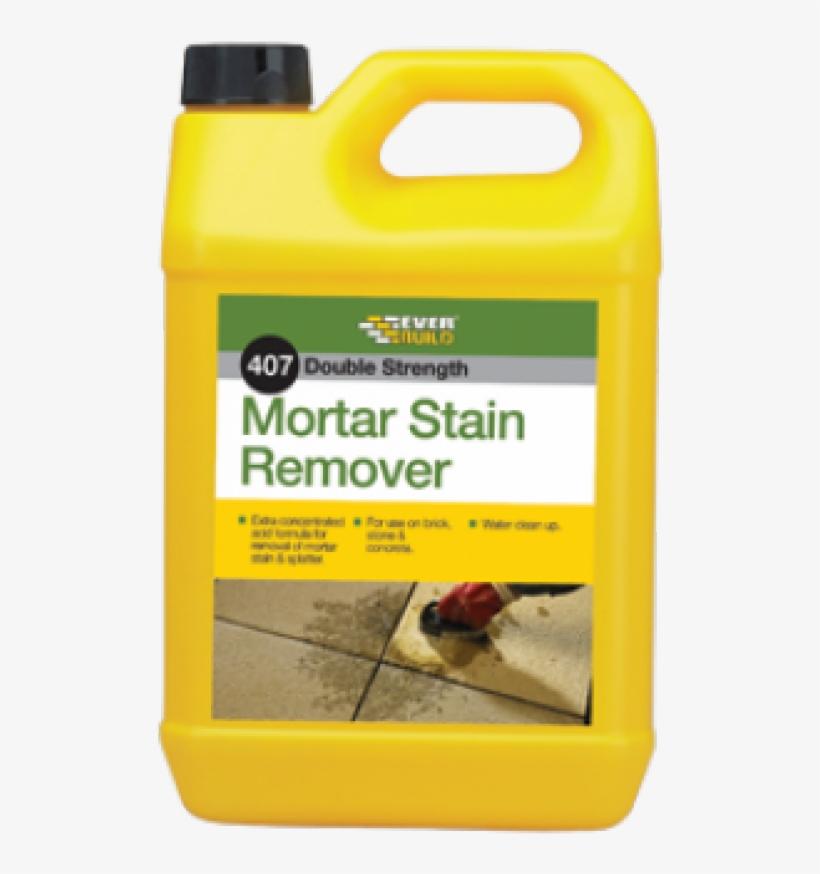 Everbuild 407 Mortar Stain Remover 5 Litre, transparent png #7840574