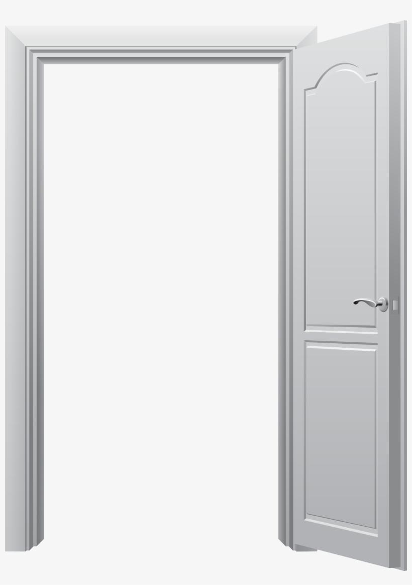 Open Door Png Clip Art Best Web Clipart - Open Door Png, transparent png #7841943