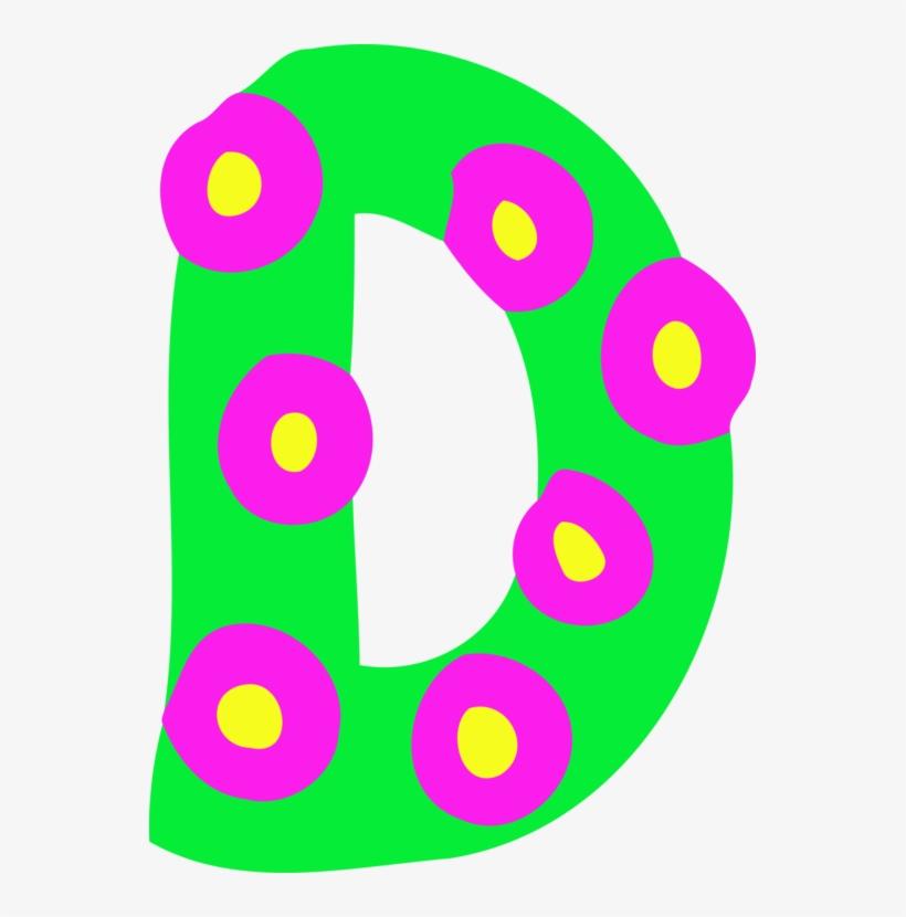 Alphabet Letter Case D Typography - Circle, transparent png #7844067