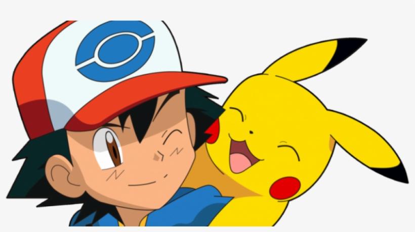 Ash And Pikachu - Pokemon Ash Y Pikachu, transparent png #7844329