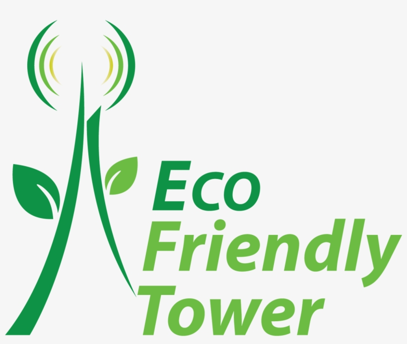 Eco Friendly Tower Has Set Up Telecom Infrastructure - Graphic Design, transparent png #7846565