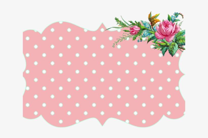 Border Clipart Vintage Flower - Marcos De Flores Vintage, transparent png #7847048