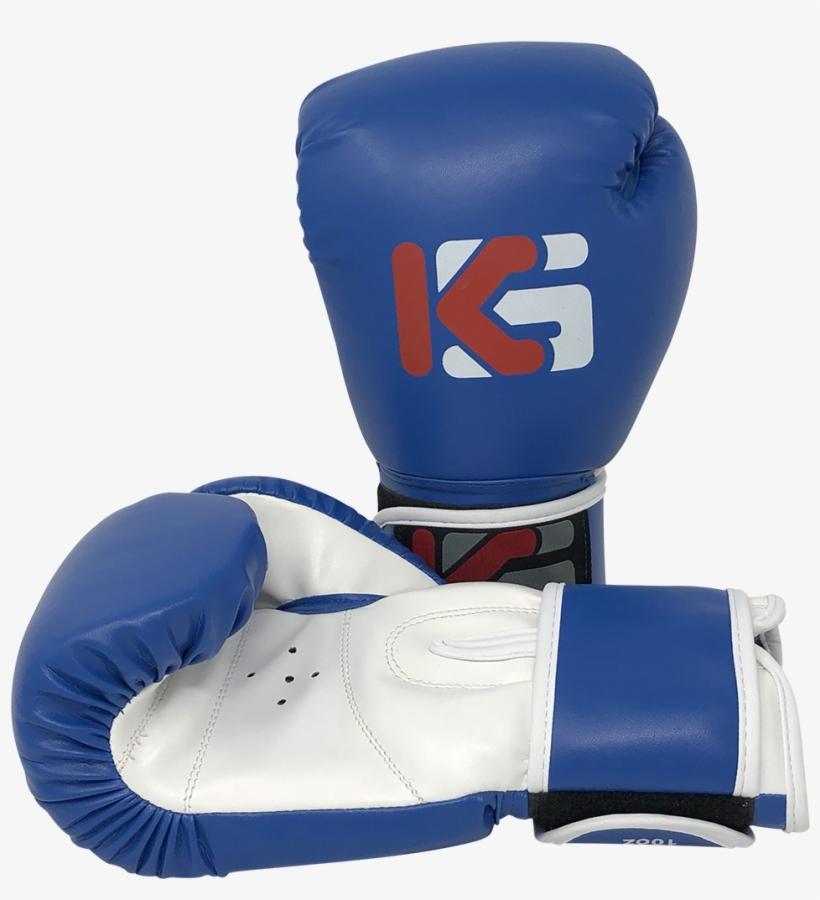 Kicksport E-sport Training Boxing Glove Blue 10oz - Amateur Boxing, transparent png #7850491